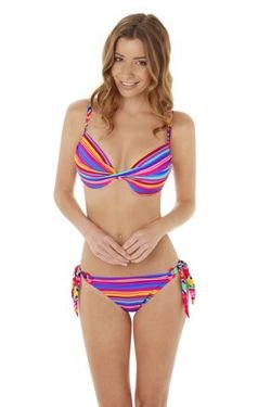 Audelle Swim Sun Kiss tie side pant