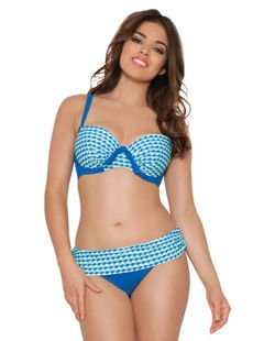 Curvy Kate Swim Atlantis fold over brief