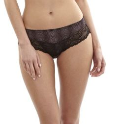Panache Jasmine brief black animal