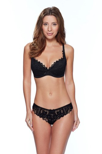Audelle Fiore padded plunge black