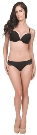 Affinitas Nicole plunge push-up black