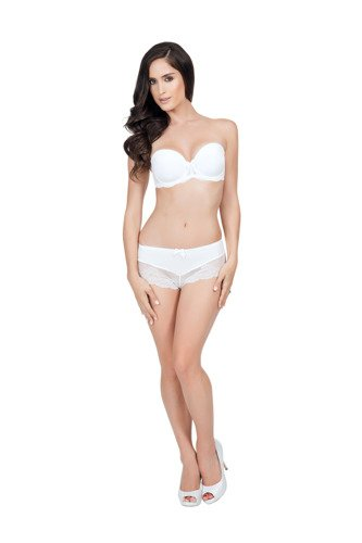 Affinitas Pearl strapless push-up ivory