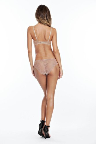 Affinitas Pearl strapless  push-up  nude