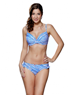 Audelle Swim Seaside Fever moulded top