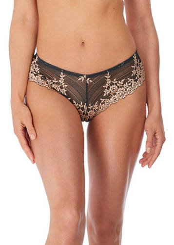 Embrace Lace Ebony / Shifting Sand Tanga