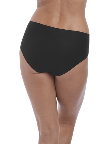 Fantasie Smoothease Black Invisible Stretch Brief