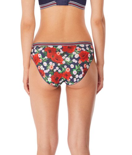 Freya Wild brief midnight poppy
