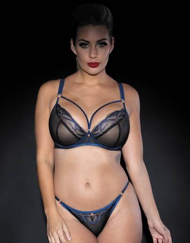 Scantilly Submission plunge black/navy