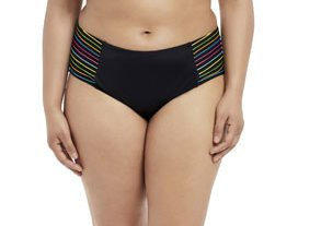 Elomi Swim Neon Nights mid rise brief