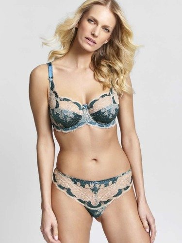 Panache Clara brief emerald