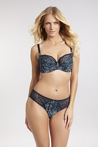 Panache Jasmine Blue Abstract