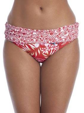 Pour Moi Odyssey Fold Over Brief - Riviera Maya