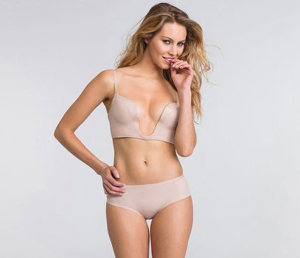 Wonderbra Perfect Plunge Plain Bra